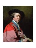 Portrait of Sir Joshua Reynolds Pra (1723-1792) Giclee Print by John Powell