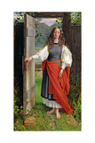 Faith, C.1858 Giclee Print by George Dunlop Leslie
