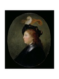 Portrait of a Young Man, 1663 Giclee Print by Gerrit or Gerard Dou