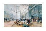 Les Halles, Paris Giclee Print by Jacques Lieven