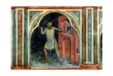 The Baker, from 'The Working World' Cycle after Giotto, C.1450 Giclee Print by Nicolo & Stefano Da Ferrara Miretto