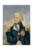 Horatio, Viscount Nelson (1758-1805) Giclee Print by George Baxter