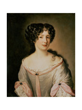 Portrait of a Lady Thought to Be Madame Hortensia Giclee Print by Jacob Ferdinand Voet