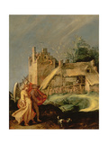 Landscape with Tobias and the Angel, 1610-15 Giclee Print by Abraham Bloemaert
