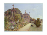 The Gardens at Montacute, Somerset, 1893 Giclee Print by Ernest Arthur Rowe