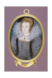 Unknown Lady (Formerly Identified as Countess of Dorset), C.1595 Giclee Print by Nicholas Hilliard