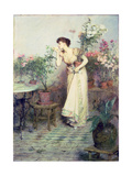 In the Conservatory, 1894 Giclee Print by Sir William Quiller Orchardson