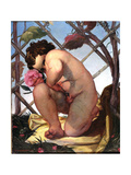 Cupid, 1830 Giclee Print by David Scott
