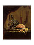 Still Life with Ham Giclee Print by Pieter De Ring