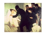 Hypnotic Seance, 1887 Giclee Print by Sven Richard Bergh