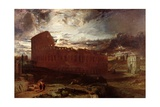 The Colosseum, Rome, 1860 Giclee Print by Frederick Lee Bridell