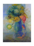 Vase of Flowers Giclee Print by Odilon Redon