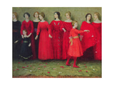 """They Come"" Giclee Print by Thomas Cooper Gotch"