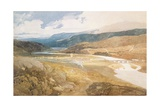 No.2303 Dolgelly, North Wales, 1804-05 Giclee Print by John Sell Cotman