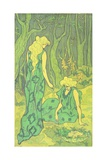 Women in the Wood, 1892 Giclée-Druck von Paul Ranson
