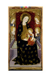 Madonna and Child with Angels, 1360 Giclee Print by Jaume Serra