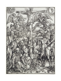 Christ on the Cross (The Great Passion) Giclee Print by Albrecht Dürer or Duerer