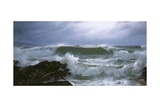 Rough Sea Giclee Print by David James