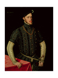 King Philip II of Spain, 1549-55 Giclee Print by Sir Anthonis van Dashorst Mor