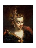Pharaoh's Daughter, after Palma Il Giovane (Jacopo Negretti) (1548-1628) Giclee Print by Giovanni Antonio Guardi