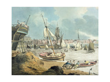 Harbour at Weymouth, Dorset, 1805 Giclee Print by John Thomas Serres