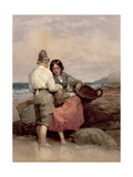 The Shrimpers Giclee Print by Edward Duncan