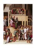 Christ before Pilate, C.1530 Giclee Print by Lodovico Mazzolino