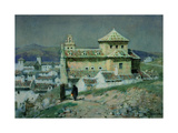 Convent of Incarnation, Antiquera , Spain Giclee Print by Albert Moulton Foweraker