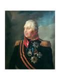 Mikhail Illarionovich Kutuzov, Prince of Smolensk, 1813 Giclee Print by Roman Maximovich Volkov
