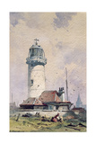 The Lighthouse, 1853 Giclee Print by Charles Hoguet