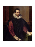 Portrait of a Gentleman Giclee Print by Alessandro Allori