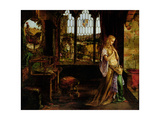 The Lady of Shalott, 1858 Giclee Print by William Maw Egley