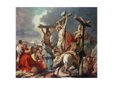 Christ on the Cross Giclee Print by Giandomenico Tiepolo