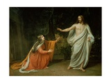 The Appearance of Christ to Mary Magdalene, 1835 Giclee Print by Aleksandr Andreevich Ivanov