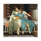 Die Musikstunde, 1877 Giclée-Druck von Frederick Leighton