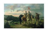 Scene from 'The Lay of the Last Minstrel' Giclee Print by Richard Beavis