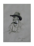 Thomas Carlyle (1795-1881), 1872 Giclee Print by Walter Greaves