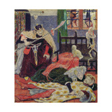 Death of Sir Tristram, 1863 Giclee Print by Ford Madox Brown
