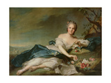 Henrietta Maria of France (1606-69) as Flora, 1742 Giclee Print by Jean-Marc Nattier