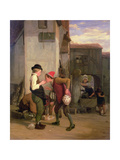 Lending a Bite Giclee Print by William Mulready