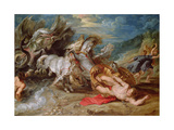 The Death of Hippolytus, C.1611-13 Giclee Print by Peter Paul Rubens
