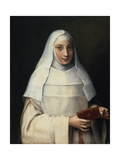 Portrait of the Artist's Sister in the Garb of a Nun Giclee Print by Sofonisba Anguissola