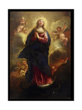 Assumption of the Virgin Giclee Print by Luca Giordano