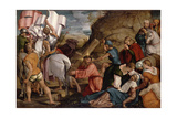 The Journey to Calvary, C.1540 Giclee Print by Jacopo Bassano