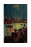 Bastille Day at Lorient, 1892 Giclee Print by Henry Moret