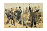 The Oaths Bill Passed by a Hundred Votes, from 'St. Stephen's Review Presentation Cartoon', 24… Giclee Print by Tom Merry