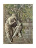 Abraham Sacrificing Isaac, C.1490-95 Giclee Print by Andrea Mantegna
