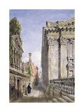 Senate House Passage, Cambridge, 1843 Giclee Print by Joseph Murray Ince
