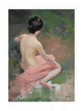 Female Nude Giclee Print by Jules Ernest Renoux