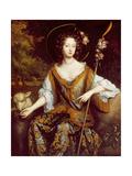 Elizabeth Jones, Countess of Kildare, C.1684 Giclee Print by William Wissing